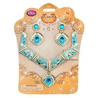 2015 Disney Store Princess Pocahontas Girl Costume Jewelry Necklace Earrings Set