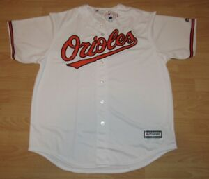 2883e72cc53 Image is loading Majestic-Baltimore-Orioles-Coolbase-Home-Jersey-Men-039-