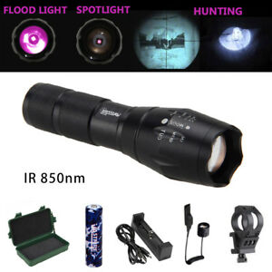 Zoom IR illuminator 940nm Infrared Night Vision Light Torch Hog Coyote Hunting T