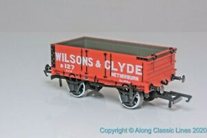 Oxford-Rail-OR76MW4003-OO-Gauge-4-Plank-Open-Wagon-039-Wilsons-amp-Clyde-039