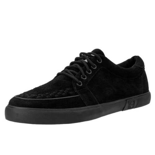 Creeper Skate Suede Shoes Vlk Rare Sneaker u k A9184 Holes 5 Men T Black New qv8Zv7