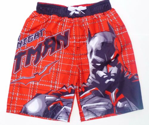 Dc 50 Trunks 4 25 Sz Suit Dark Knight Batman Boys Uv Comics Swim Bathing New 5 EXqagA