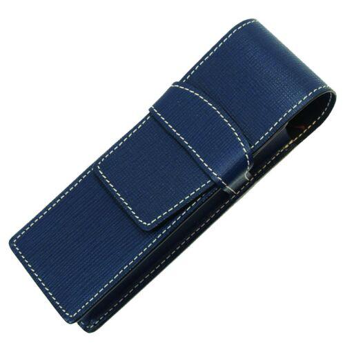 Case Pilot TLPS-05-L Trender Leather Blue Leather Pen Sheath