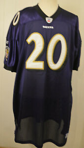 5dd5452ab New Reebok Baltimore Ravens Jersey 20 Ed Reed Authentic NFL Onfield ...