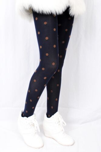 60 DENIER OPAQUE POLKA DOT PATTERNED TIGHTS Miss Jane 1262