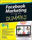 Facebook Marketing All-in-One For Dummies by John Haydon, Andrea Vahl, Jan Zimmerman (Paperback, 2014)