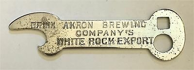 Ohio beer openers collection on ebay 1910s akron ohio brewing white rock export key shaped bottle opener b 21 462 malvernweather Image collections