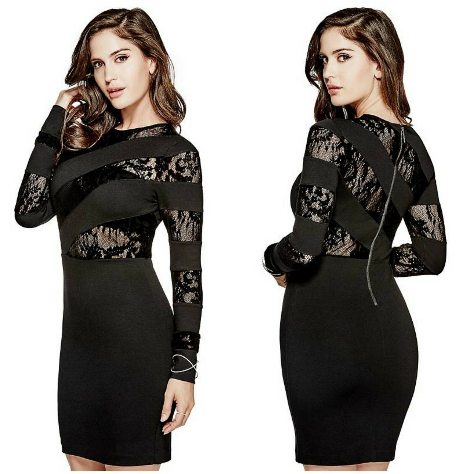 GUESS FrotERIKKE LONG-SLEEVE DRESS