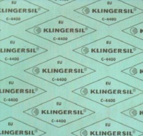Klingersil C4400 3mm Dichtungsplatte DVGW KTW Dichtung HTB TA-Luft qm=562,13€