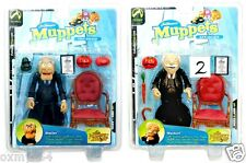 Palisades Toys Jim Henson's Muppets Show Series 6 Statler Waldorf Figure Set!
