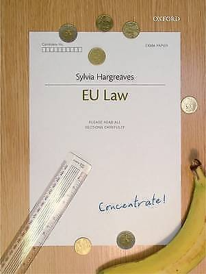 """""""AS NEW"""" Hargreaves, Sylvia, EU Law Concentrate, Book"""