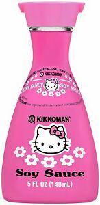 Kikkoman-Hello-Kitty-Pink-Special-Edition-Soy-Sauce-5oz-Japan-US-SELLER