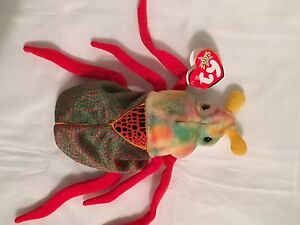 473d9916ca7 TY Beanie Baby - SCURRY the Beetle - Pristine with Mint Tags ...