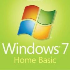 Windows 7 Home Basic 32 / 64 Bit Genuine License Product Key Serial Scrap PC