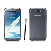Unlocked 5.5 Black Samsung Galaxy Note 2 3g Android Gsm Smartphone 16gb Auch