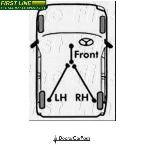 Brake Cable Handbrake Left//Rear for NISSAN NOTE 1.5 06-on K9K 276 K9K 700 FL