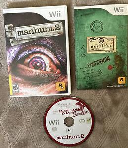 Manhunt 2 Nintendo Wii Complete CIB Authentic