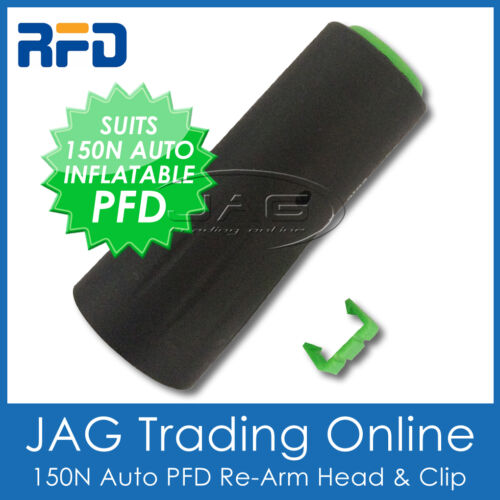 RECHARGE AUTOMATIC INFLATABLE LIFE JACKET RFD AUTO PFD RE-ARM HEAD /& CLIP ONLY