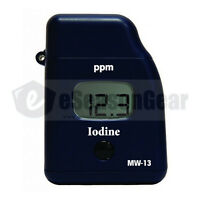 Milwaukee Mw13 Iodine Mini Colorimeter Photometer Water Tester Meter