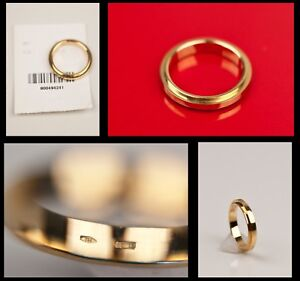 1-385-BRAND-NEW-TOM-FORD-for-GUCCI-YELLOW-GOLD-RING-WEDDING-BAND-7