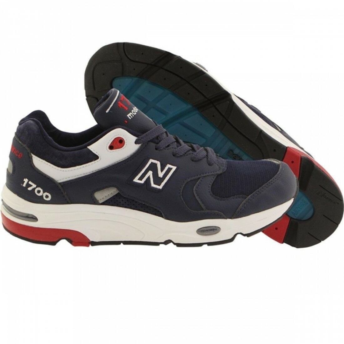 New Balance Classics 1700 Men's Size 10.5 shoes USA Navy White Red M1700CME NEW