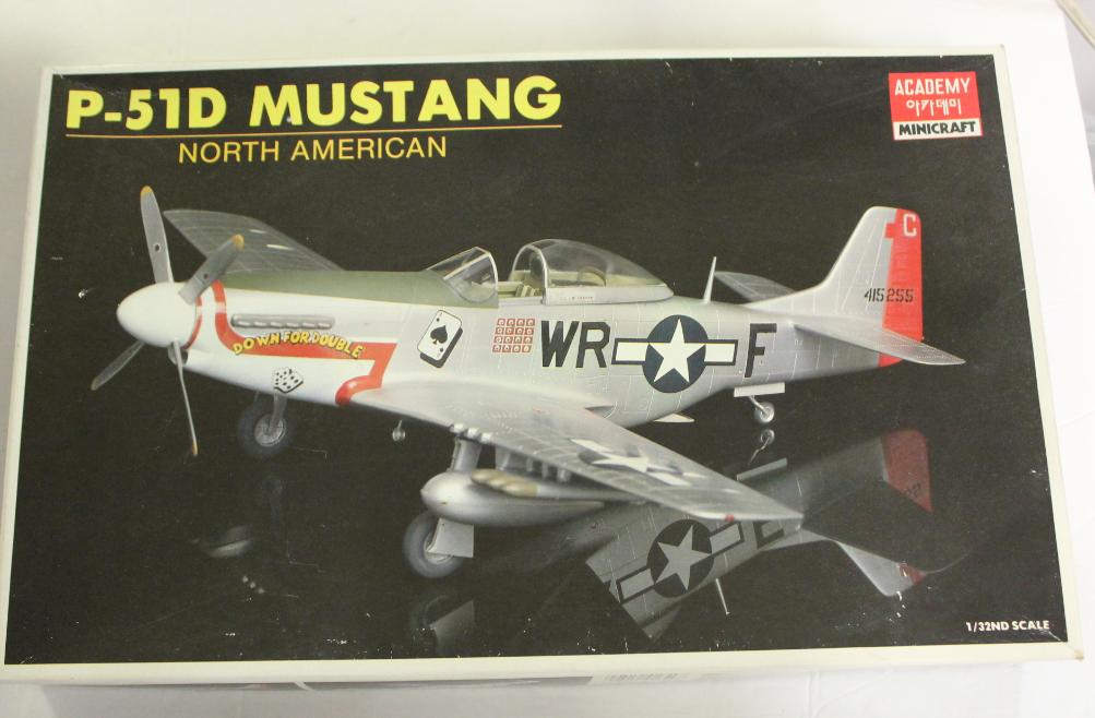 Akademie Minihandwerk Nordamerikanischen P-51D Mustang in 1 32 1629