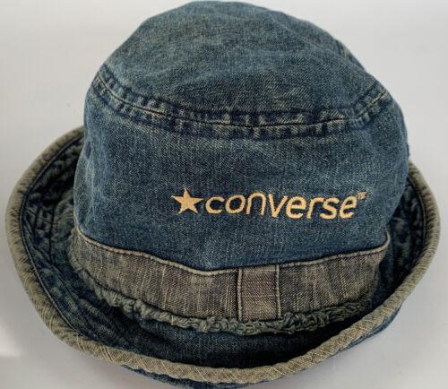 Converse All-Star Blue Denim Bucket Hat Insane Rar