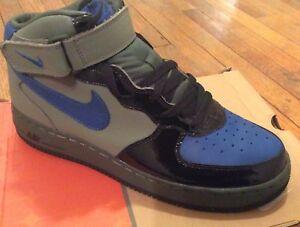 best website 59f73 1af78 Details about NIB Nike 2004 Air Force 1 Dirk Nowitzki Sneakers, Olive/Black  Bluejay Sz 8.5