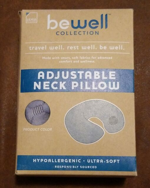 BeWell Adjustable Neck Pillow for
