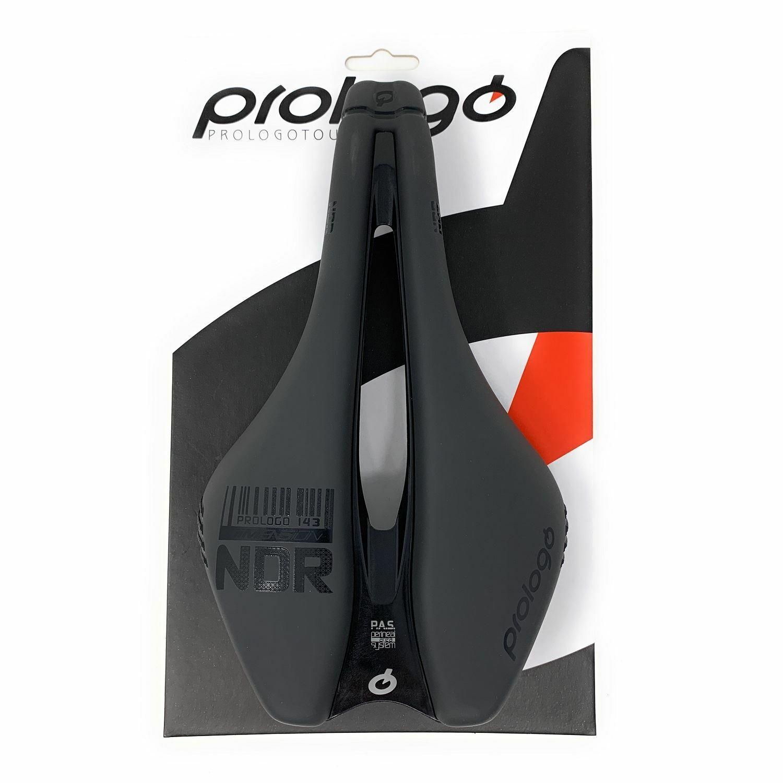 Nuevo Prologo Dimension NDR silla T4.0 143 X 245mm Road Offroad Anthracite Negro