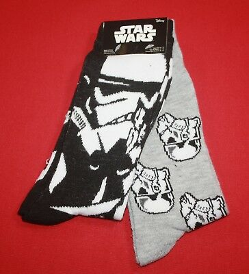 Star Wars Stormtrooper Calcetines Red-Black-White