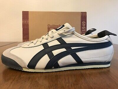 new style f5ba2 ad9e3 Asics Onitsuka Tiger Mexico 66 Birch/India Ink/Latte Beige Off-White 11 |  eBay