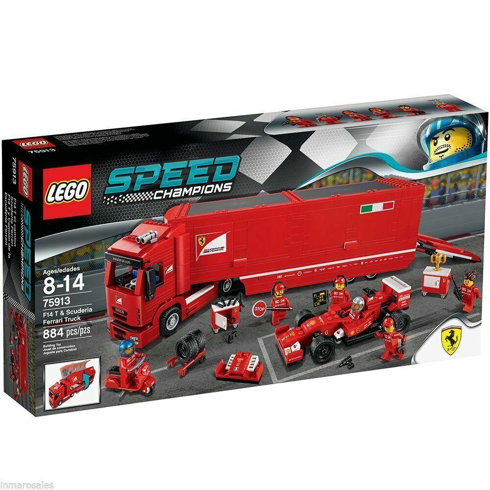 Lego 75913 F14 camin scuderia ferrari neuf,scellé,epuise.