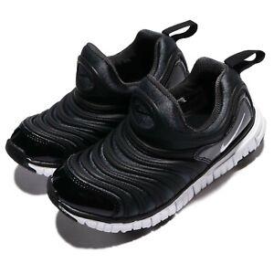 Nike-Dynamo-Free-PS-Black-White-Preschool-Boys-Running-Shoes-Sneakers-343738-013