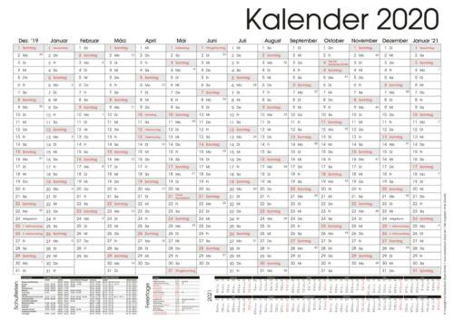 A3 Wandkalender Wandplaner Jahresplaner 2020 Büroplaner XXL A0 A2 A1 A4