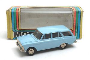 Vintage-Radon-Russian-USSR-CCCP-1-43-Light-Blue-Moskvitch-426-MIB