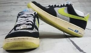 907f9aa201fb NIKE AIR FORCE 1 LOW NEW SIZE 8 REFLECTIVE SILVER VOLT 488298 077 ...