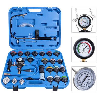 Kühlsystem Tester Autokühler Kühlerdruck Drucktester Vakuum Prüfgerät 1p 27 tlg