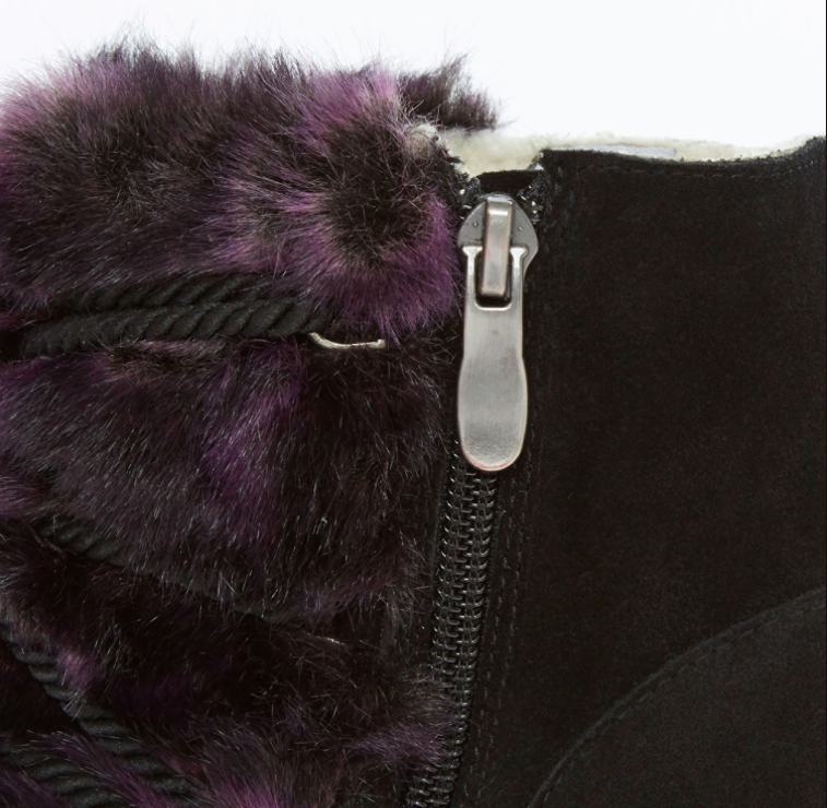 SO•QUEEN SO•QUEEN SO•QUEEN Purple Faux Fur and LEATHER Giovanna Boots rrp  - sizes UK 5 6 ce7bb7
