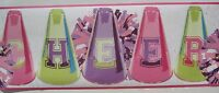 Girls Cheerleading Wallpaper Border 9