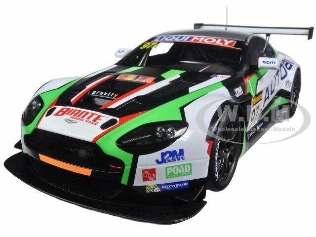 ASTON MARTIN V12 VANTAGE BATHURST ENDURANCE RACE 2015  97 1/18 BY AUTOART 81506