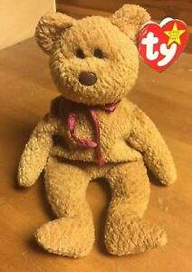 bda5416d70e Ty ORIGINAL Beanie Baby CURLY BEAR - MINT Condition RARE Retired Tag ...