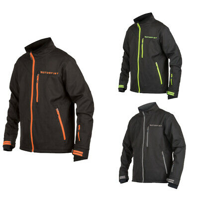 Black//Hi-Vis Mens Motorfist Fuel Jacket
