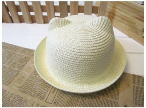 Summer Baby Boys Girls Hat Cap Children Breathable Hat Straw Hat Kids Hat