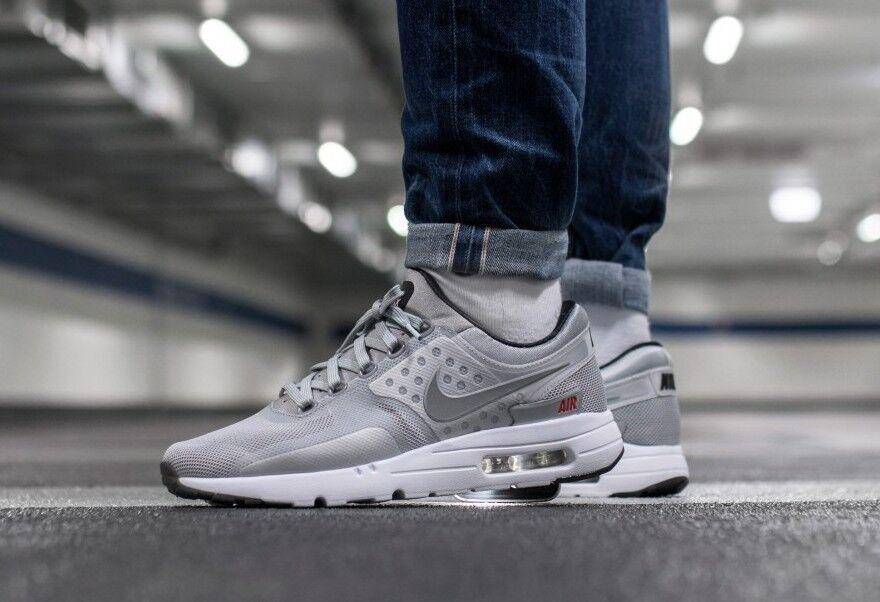 Nike Air Max Zero QS Mens Silver