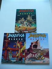 EO (très bel état) -Béatifica blues (série complète de 3 tomes) -Griffo & Dufaux