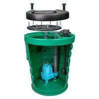 Little Giant 10sf2v2d - Pit Plus Sr. 1/2 Hp Premium Simplex Sewage System