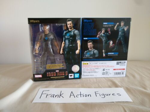 SHF S.H.Figuarts Marvel Avengers Tony Stark Iron Man 3 Action Figure NIB reissue