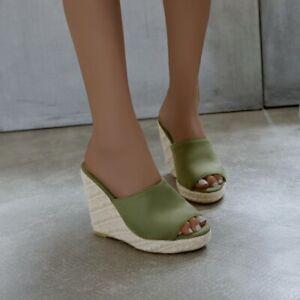 Mules Sandals Womens Platform Wedge