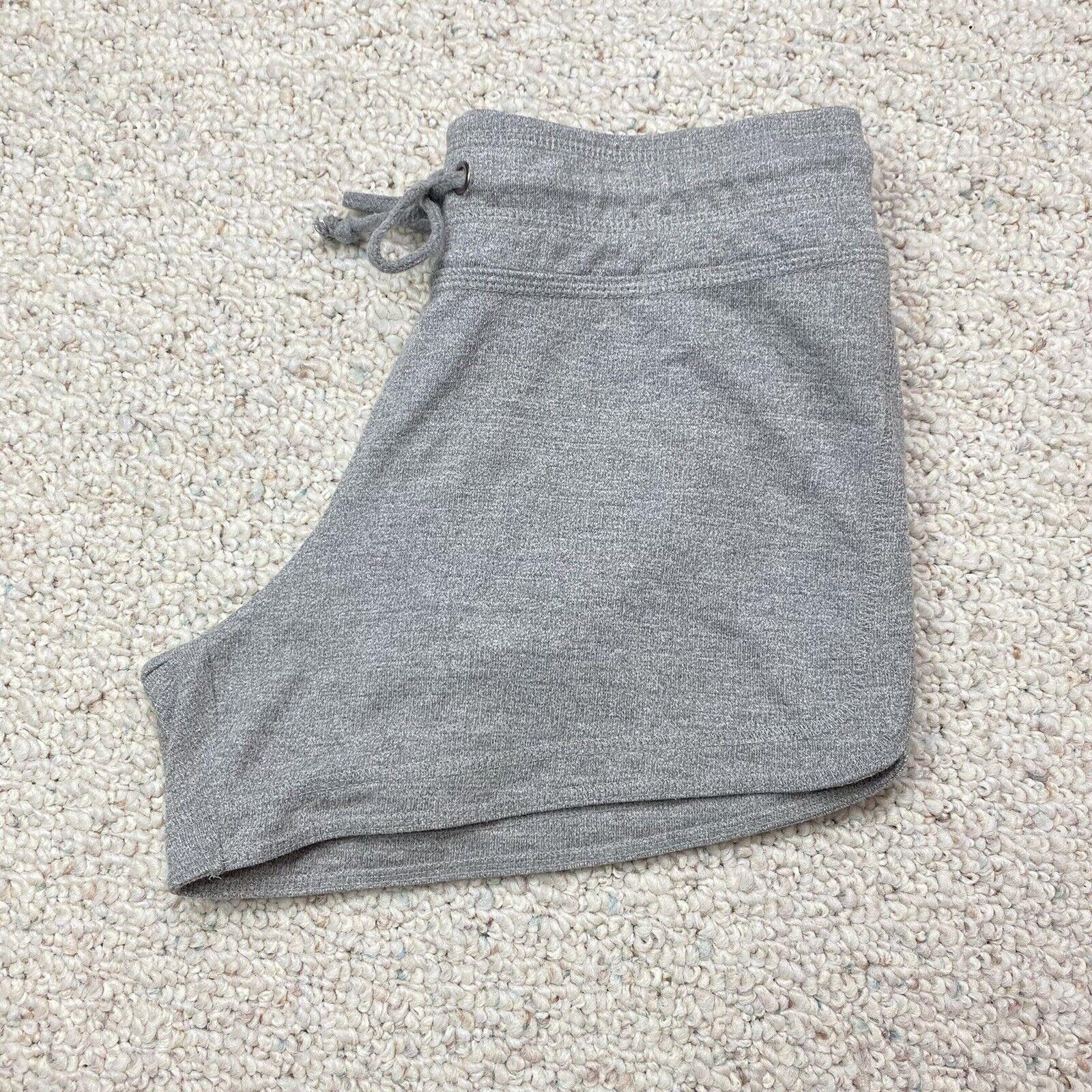 Harmony & Balance Womens Active Shorts sz S Light Gray Elastic Waist Lightweight